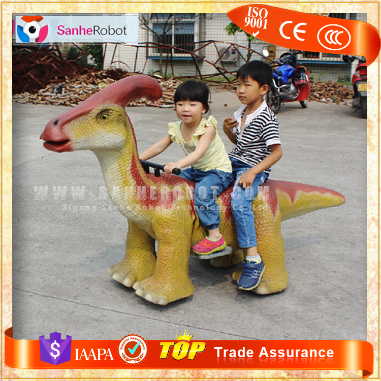 SH-S004 Outdoor playground kids riding toys friv dinosaur games