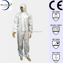 White Disposable Miner Overall
