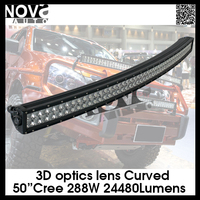 50inch working light with bat beam pattern, off road motorcycles, SEMA Show, off road led