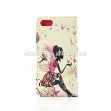 Shenzhen Factory OEM cute gril PU leather wallet flip phone cover for HTC case