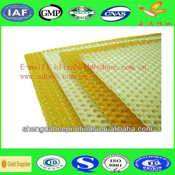 wholesale plastic beeswax foundation