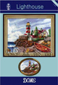 Needle Crafts Embroidery DIY Counted Cross Stitch Kit Lighthouse at the Seaside