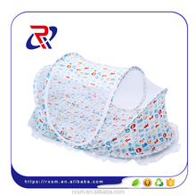 baby bed net folding portable mosquito net with pillow mattress music
