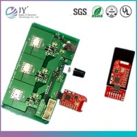 Gold finger printed circuit board, wireless mouse pcb