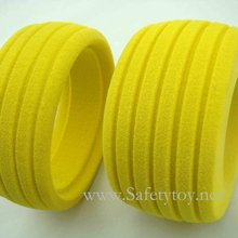 soft,colorful, durable rubber foaming RC toy tyre, factory