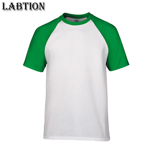 wholesale soft and comfortable blank cotton raglan sleeve t shirt