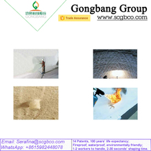 Fireproof Membrane White Waterproof Material Name 14 Patents for Tunnel