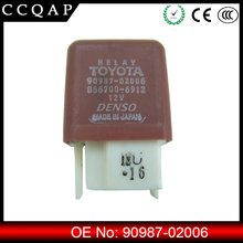 Factory price 90987-02006 automobile denso auto relay 12v for toyota