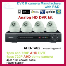 CCTV security 4ch AHD DVR kit