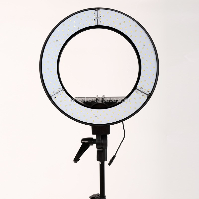 "Camera Photo/Video 18""Outer 14""Inner 600W 5500K Ring Fluorescent Flash Light 14"" ring fluorescent flash light. Power: 55W (equi"
