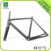 Factory direct sales Super light carbon cyclocross bike frame disc brake acb-071, carbon CX frame