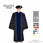 Customized Doctorate PhD Graduation Gown Cap and Hood