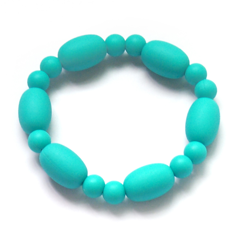 The soft silicone voal teething bracelet baby teething bracelet for mom