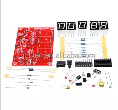 New DIY Kits RF 1Hz-50MHz Crystal Oscillator Frequency Counter Meter Digital LED <strong>tester</strong> meter