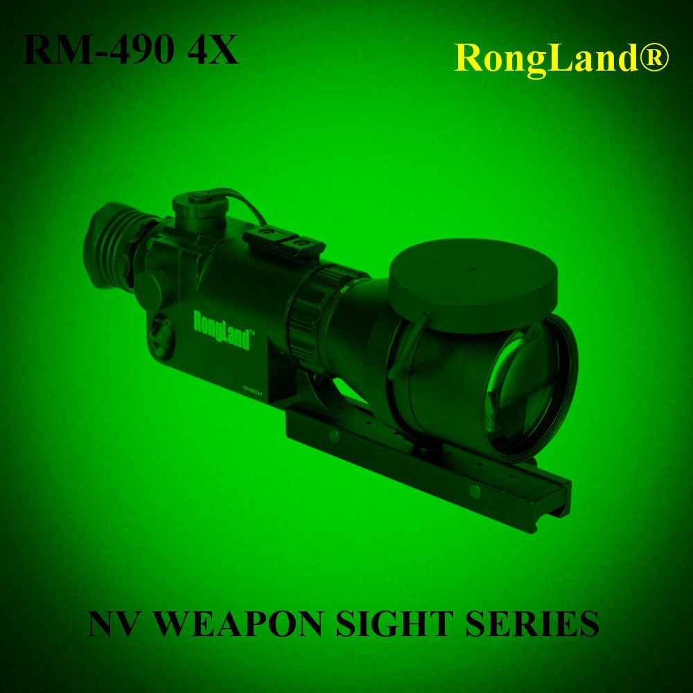 4x riflescope night vision/Gen 1+ waterproof hunter night vision scope