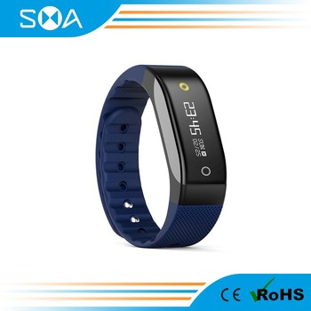 SMA Coach smart band dynamic heart rate smart bracelet monitor in real-time display more than 38 countries languages