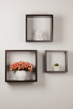display modern wall shelf