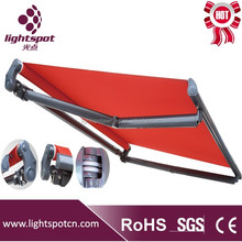 half Cassette Retractable Awnings