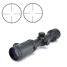 Visionking Tactical 1.5-6x24 Compact Rifle Scope with Illuminated Red Green Mil-dot Reticle