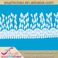 DCHB2280 Latest design wholesale decorative white embroidery fringe lace cotton