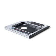 "For Laptop ODD Optical Bay Aluminum Plastic Universal 2nd HDD Caddy 9.5mm SATA to SATA 2.5"" SSD Case Hard Disk Drive Enclosure"