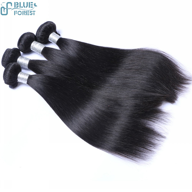 2016 hot sale high quality brazilian straight sew in human hair extensions