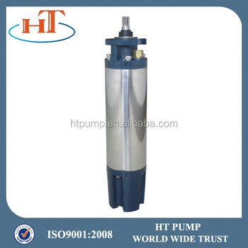 Oil Filled 6 Inch Deep Well Electric Motor Submersible