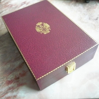 Large Size MDF Wooden Jewelry Box Wholesale with Gold Metal Lock