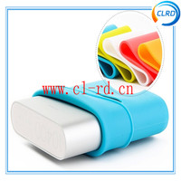 6 colors available silicon case for xiaomi 10400mah power bank 100% original xiaomi power bank in stock
