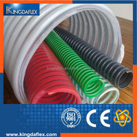 High Abrasion Resistance 2mm Thickness 3 Inch PVC Suction Hose Pipe