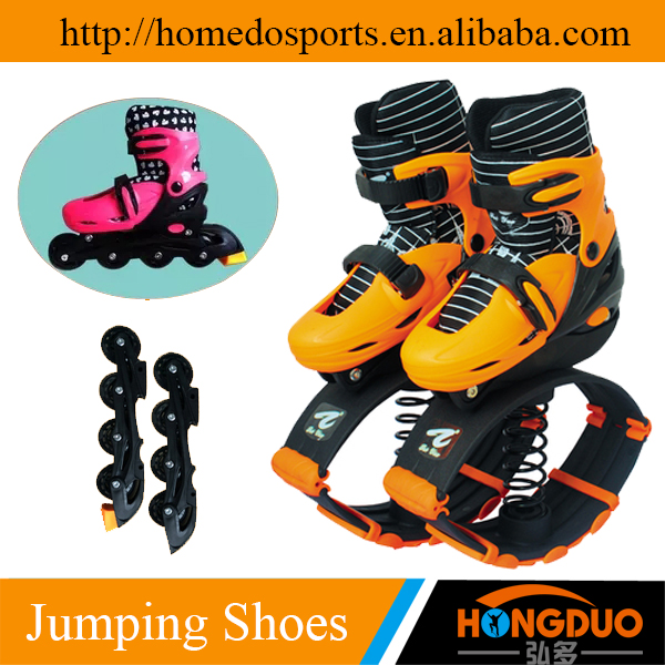 Jumping skate sports shoes