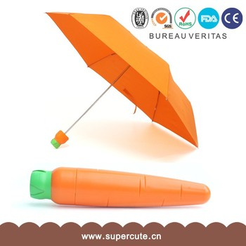 Fashion lovely PG+ABS material pocket umbrella