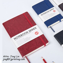 a5 fashion designer favor moleskine type notebook
