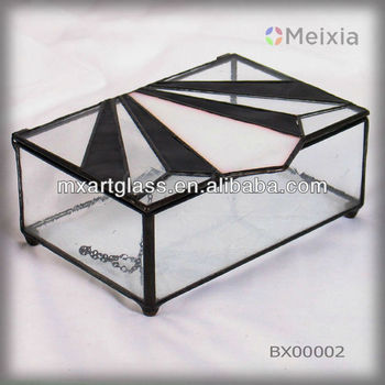 BX00002 china wholesale stained glass jewelry box for home decoration