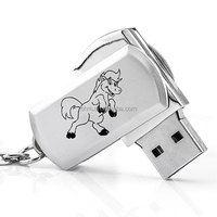 Hot Selling Metal Swivel USB Flash Drive for Promotion Gifts