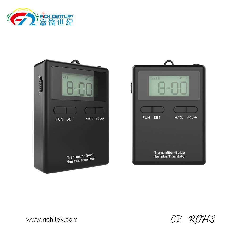 China Professional Factory Sale 200 Meters walkie talkie travel guide book