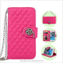 Elegant Wallet Card Holder Leather Case For iPhone 5