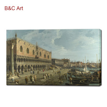 Living Room Decoration Painting Venice Scenery Copy Painting of Famous Artist