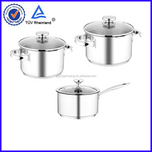 with high end quality stainless steel double wall casserole