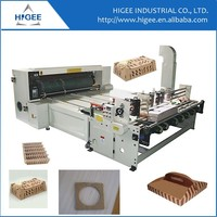 Automatic carton paper box making feeder die cutter