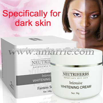 Best Anti-aging and Moisturizing skin care whitening product face cream black men
