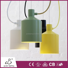 New Arrival Color Iorn vintage pendant lights Silo pendant lamps with CE,UL listed