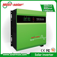 Must-Solar Best Solar System Solution PV Inverter Kit Small Solar System 700W Isolated and Non-Isolated PV Solar Inverter