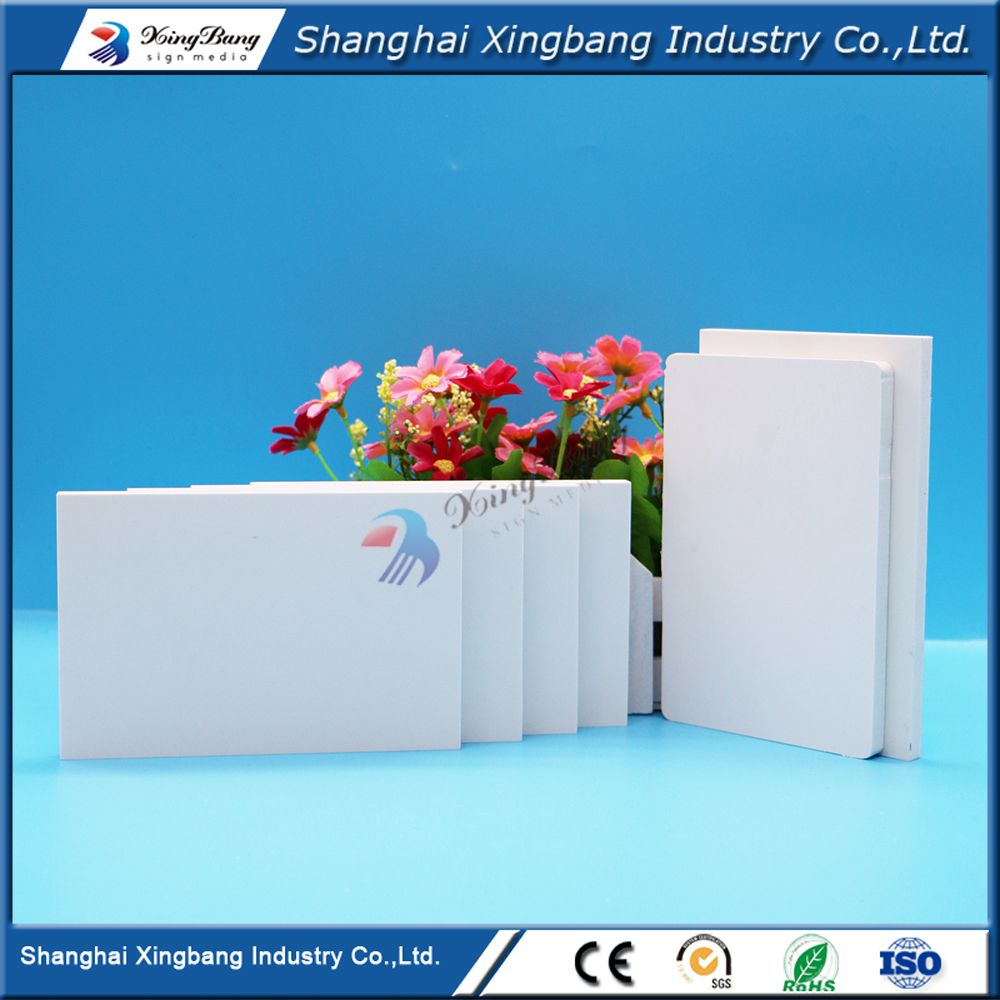High density PVC foam sheet shuttering boards