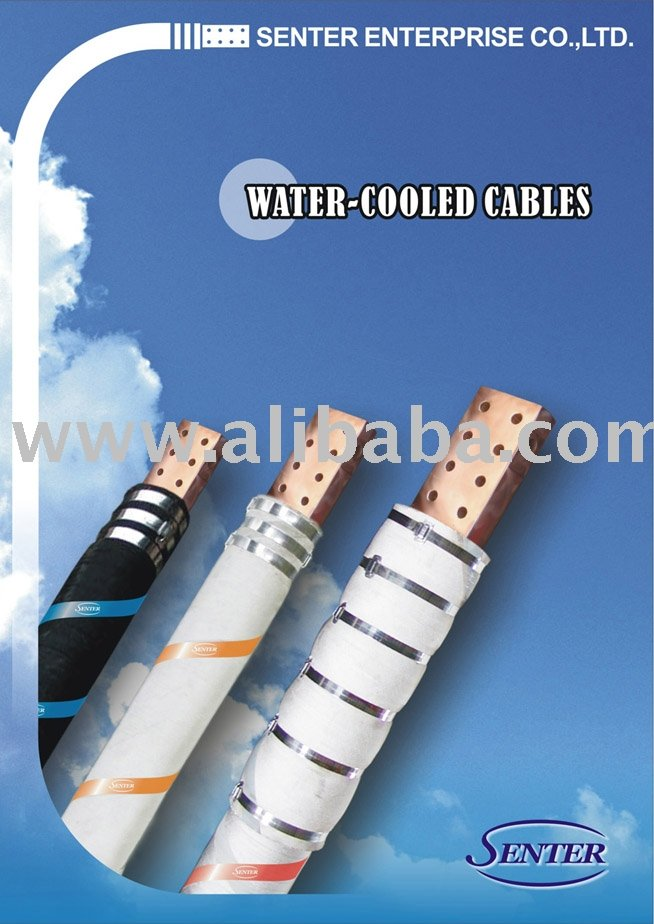 Water-Cooled Furnace Cable For Eaf, Water Cooling Fire-Resistant Rubber Hose