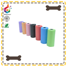 Colorful Plastic Biodegradable epi dog waste pet poop bag