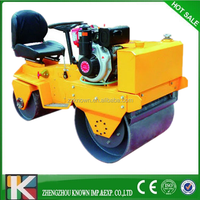 Construction Machinery Honda Engine price road roller compactor