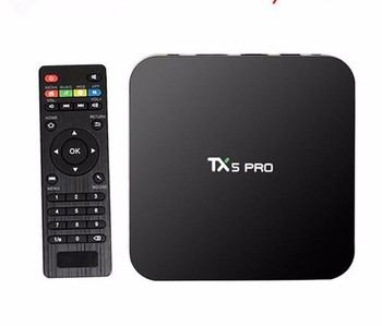 TX5 Pro Amlogic S905X 2G 16G Android 6.0 tv box Quad Core Android 6.0 Marshmallow arabic iptv box