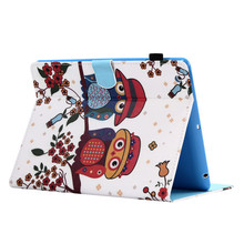 Anti shock printing tpu leather cover for ipad pro 9.7 tablet protective case