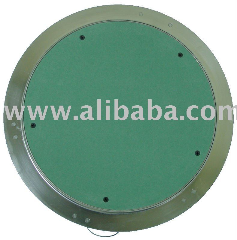 Alustar Flush Round Access Panel with Gypsum Board Door